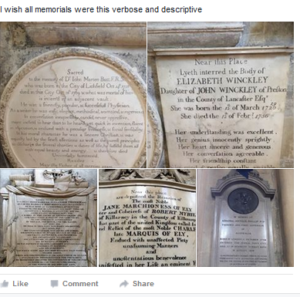 Post on Epitaph's  - WikiTree for Genealogists