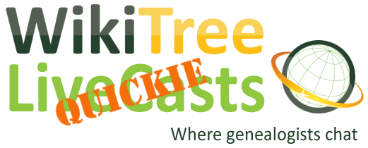 LiveCast Quickie – Conferencing WikiTree Style with Kirsty Gray