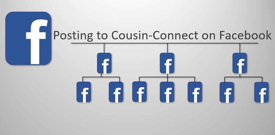 Facebook post to cousin connect