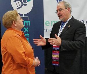 Mags talks with David Allen Lambert (NEHGS)