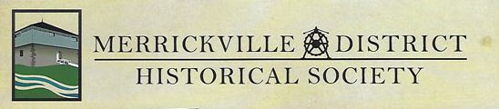 Merrickville and District Historical Society AGM